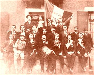Fanfare de Communay 1914