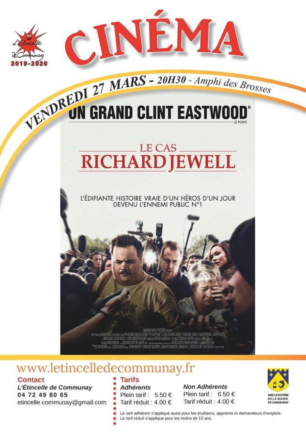 """Affiche cinéma du 27 Mars 2020 : """"Le cas Richard JEWELL"""""""