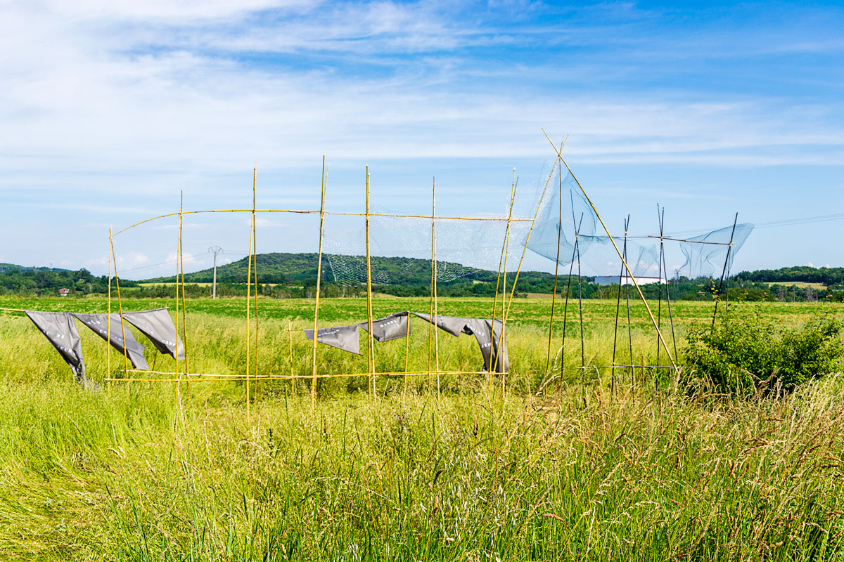 CommunaysART & Jardins 2021 : Le campement du vent