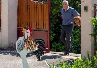 CommunaysART & Jardins 2021 : Le coq aux vents