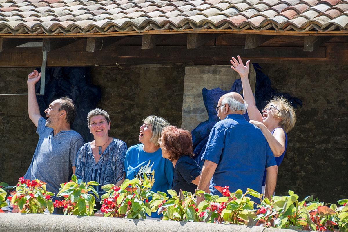 "CommunaysART & Jardins 2021 : Troupe à Trac : ""Les grands vents"""