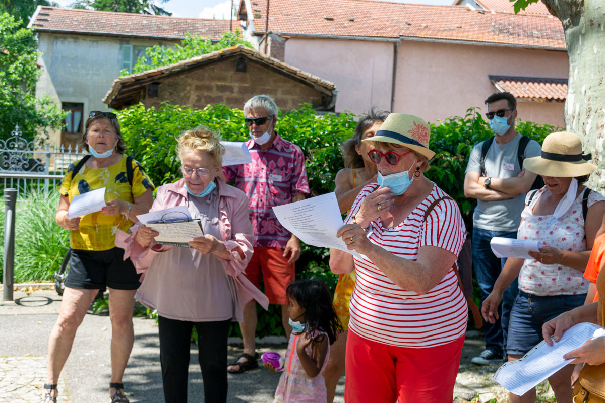 CommunaysART & Jardins 2021 : l'Etincelle chante